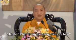 Phật tử tại gia những điều cần biết