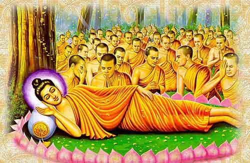 Đức Phật nhập Niết Bàn