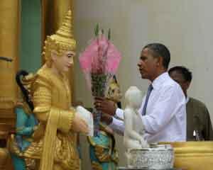 Tổng thống Obama thỉnh Phật vào nhà trắng