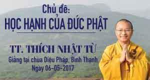 Học hạnh của Đức Phật