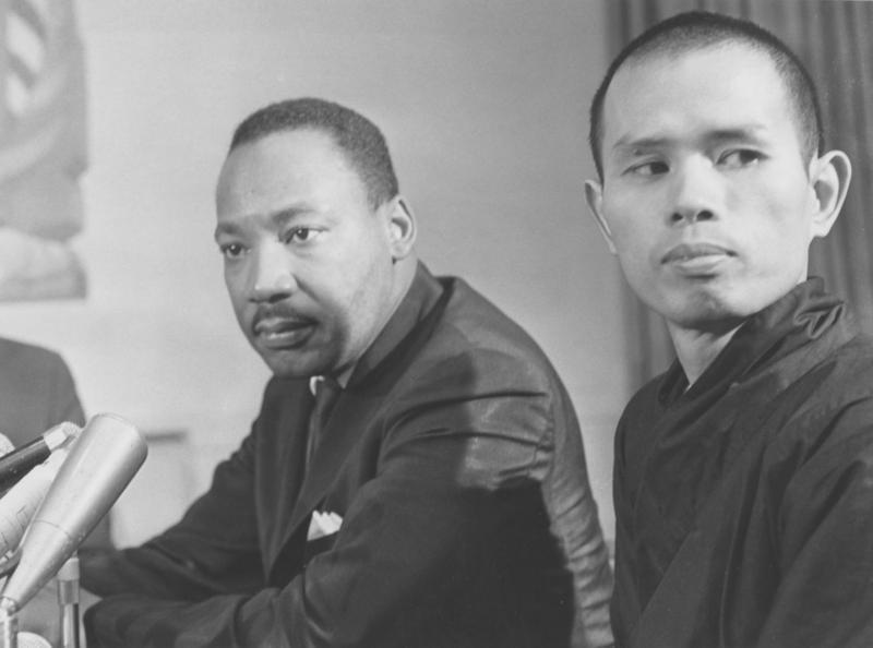 Thich Nhat Hanh va Martin Luther King
