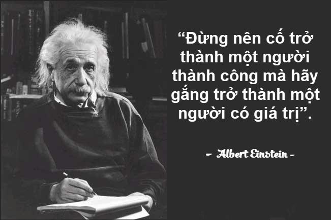 Những câu nói hay của người nổi tiếng Albert Einstein