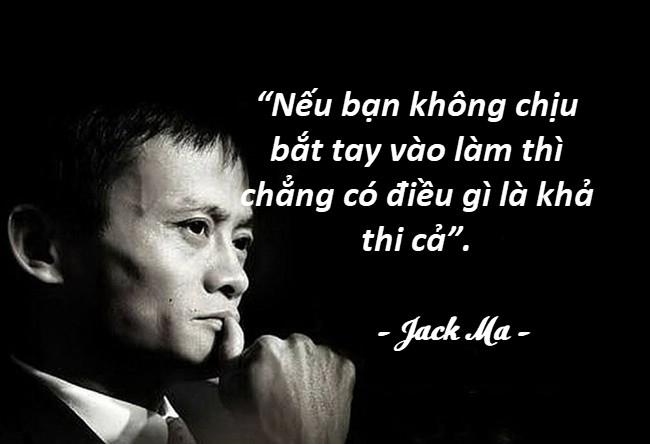 Những câu nói hay của người nổi tiếng Jack Ma