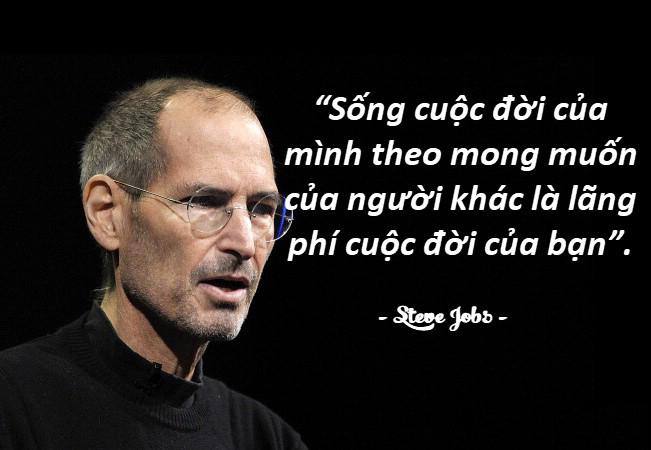 Những câu nói hay của người nổi tiếng Steve Jobs