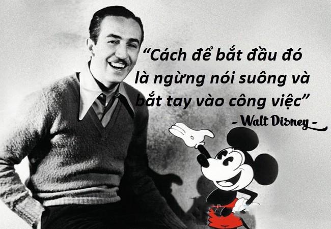 Những câu nói hay của người nổi tiếng Walt Disney