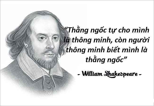 Những câu nói hay của người nổi tiếng William Shakespeare