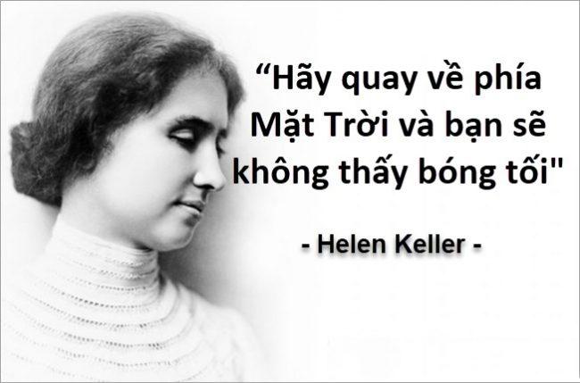 Những câu nói hay của người nổi tiếng helen keller