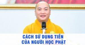 Cách sử dụng tiền của người học Phật