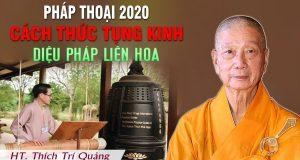 Cách thức tụng Kinh Pháp Hoa của Phật tử tại gia