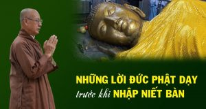 Những lời dạy cuối cùng của Đức Phật trước khi nhập Niết Bàn